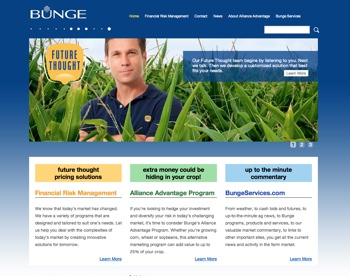 Bunge Risk Management home page image